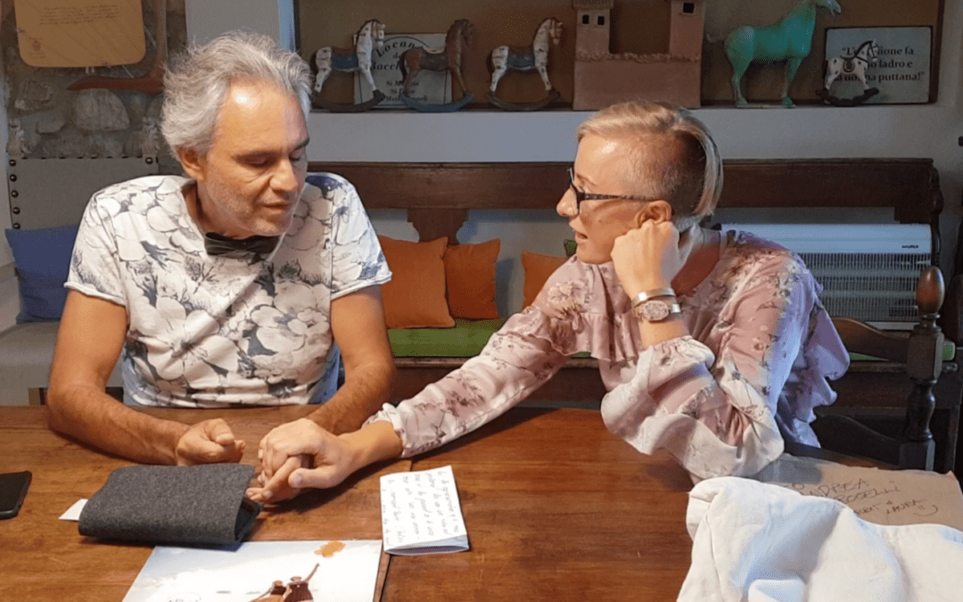 Andrea Bocelli…full journey of dream coming true