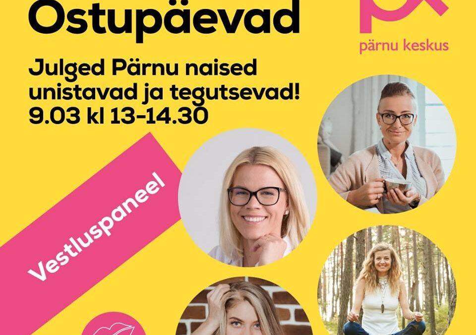 Vestluspaneel Pärnu Keskuses