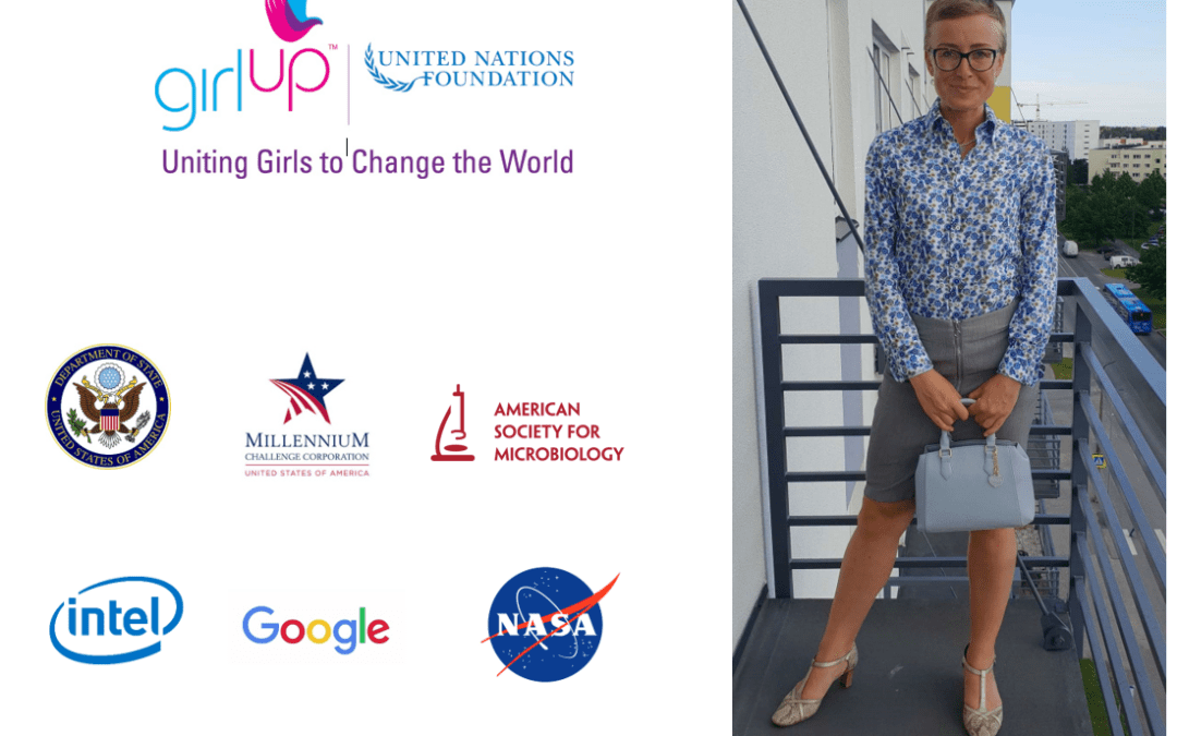 Errit was speaking at Women in Science (WiSci) STEAM Camp for Girls
