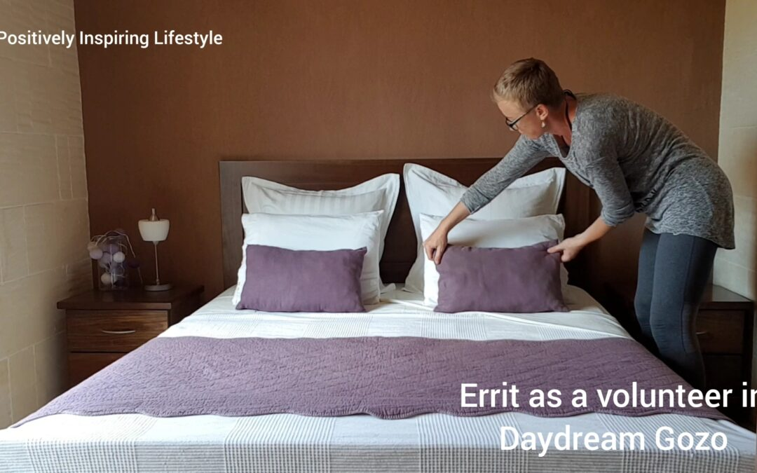 Errit volunteering in Daydream Gozo B&B (Malta)