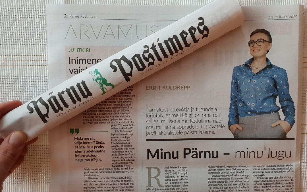 Errit Kuldkepp – Minu Pärnu, minu lugu