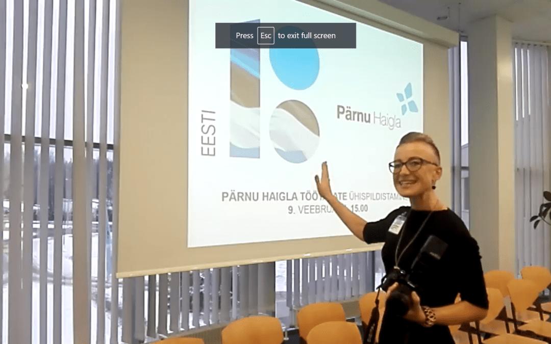 EV 100 Pärnu Haiglas