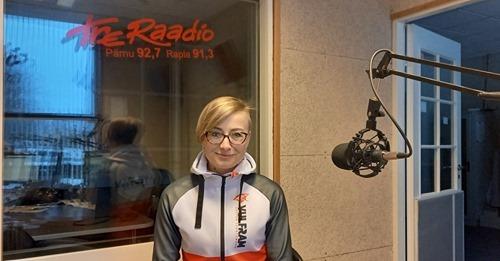 Vulfram Tre Raadio Pärnu stuudios